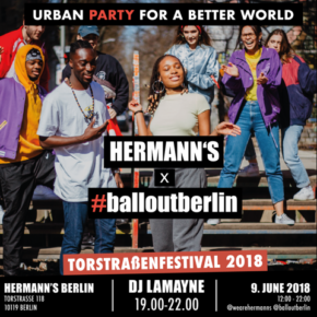 HERMANN's X #balloutberlin