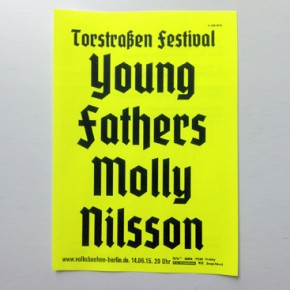 Sunday: Young Fathers + Molly Nilsson