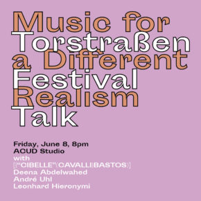 Talk: Music for a Different Realism